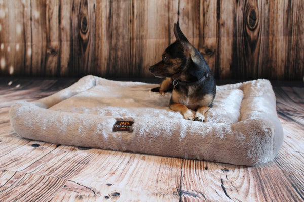 Orthopedic Dog Bed (Stone color)