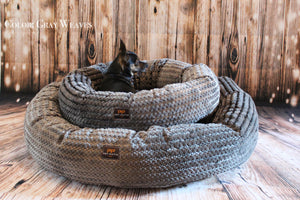 2 in 1 Round Nest Dog Bed