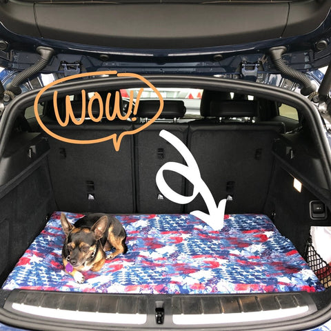 Orthopedic Dog Kennel Mat for Car Use
