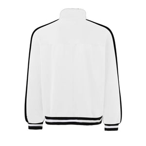 Retro Trackjacket - White / Black - Insurgence Wear - Affordable Streetwear Essentials