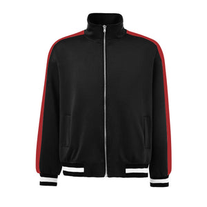 Retro Trackjacket - Black / Red - Premium, Affordable Streetwear
