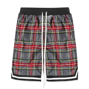 Plaid Shorts - Grey - Premium, Affordable Streetwear