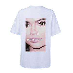 FUCKTYGA Tee - White - Insurgence Wear - Affordable Streetwear Essentials