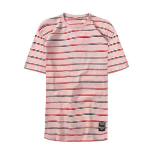 Everyday stripped tee - Pink - Insurgence Wear - Affordable Streetwear Essentials