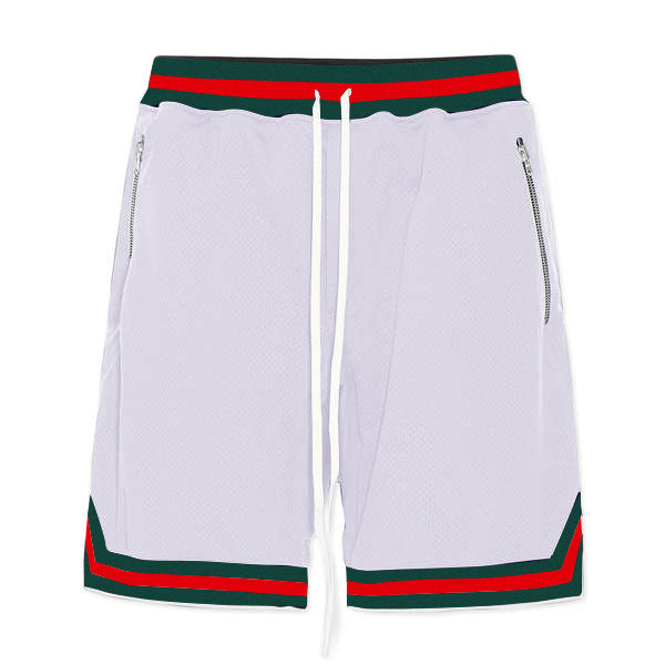 Sports Mesh Shorts S2 - White - Quality Affordable Cheap Streetwear - Insurgence Wear