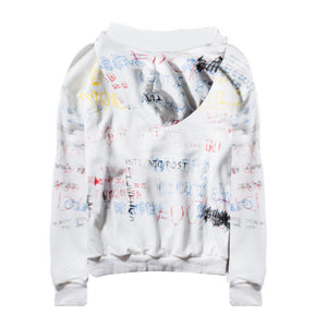 Graffiti Oversized Hoodie - White - Insurgence Wear - Affordable Streetwear Essentials