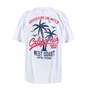 California Graphic Tee - White - Insurgence Wear - Affordable Streetwear Essentials