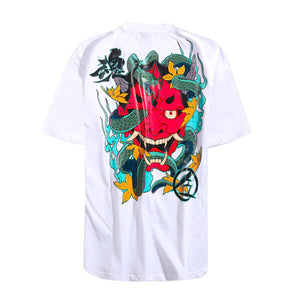 Prajna Graphic Tee - White - Insurgence Wear - Affordable Streetwear Essentials