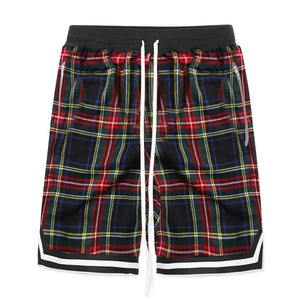 Plaid Shorts - Green - Premium, Affordable Streetwear