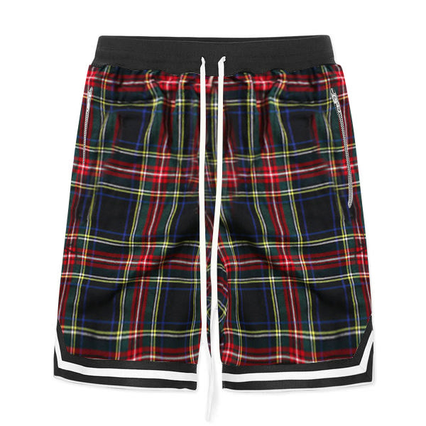 Plaid Shorts - Green - Quality Affordable Streetwear