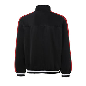 Retro Trackjacket - Black / Red - Insurgence Wear - Affordable Streetwear Essentials
