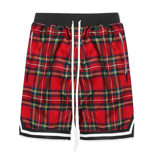 Plaid Shorts - Red - Premium, Affordable Streetwear