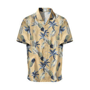 Anana Summer Shirt - Yellow - Premium Quality & Affordable Streetwear