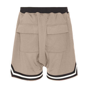 Sports Mesh Shorts S1 - Tan - Insurgence Wear - Affordable Streetwear Essentials
