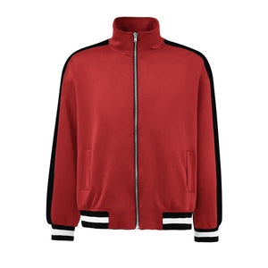 Retro Trackjacket - Red / Black - Insurgence Wear - Affordable Streetwear Essentials