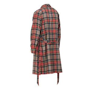 Oversized Velour Plaid Robe - Insurgence Wear - Affordable Streetwear Essentials