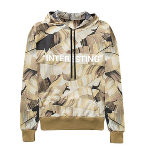 "Tropical ""Interesting"" Hoodie - Khaki - Insurgence Wear - Affordable Streetwear Essentials"