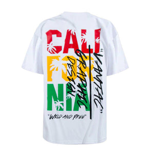 Cali Graphic Tee - White - Insurgence Wear - Affordable Streetwear Essentials