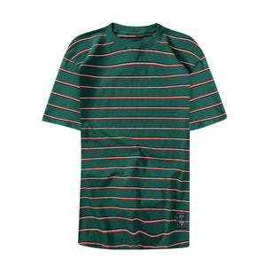 Everyday stripped tee - Green - Insurgence Wear - Affordable Streetwear Essentials
