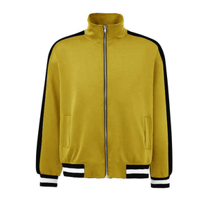 Retro Trackjacket - Yellow / Black - Quality Affordable Streetwear
