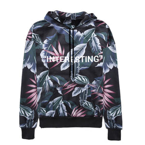 "Tropical ""Interesting"" Hoodie - Black - Insurgence Wear - Affordable Streetwear Essentials"