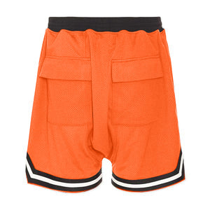 Sports Mesh Shorts S1 - Orange - Quality Affordable Streetwear