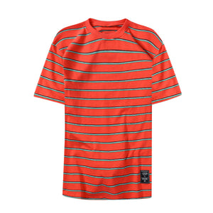 Everyday stripped tee - Orange - Insurgence Wear - Affordable Streetwear Essentials