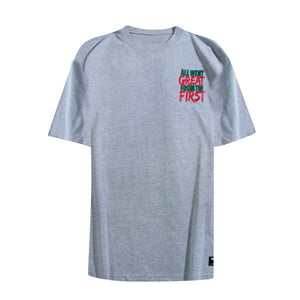 Union Graphic Tee - Grey - Insurgence Wear - Affordable Streetwear Essentials
