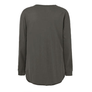 Basic Long Sleeved Tee - Grey - Insurgence Wear - Affordable Streetwear Essentials