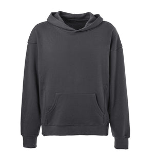 Terry Oversized Hoodie - Grey - Quality Affordable Streetwear