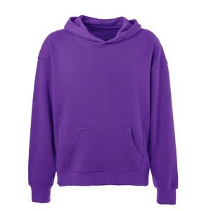 Terry Oversized Hoodie - Purple - Insurgence Wear - Affordable Streetwear Essentials