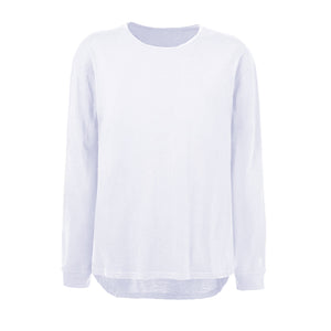 Basic Long Sleeved Tee - White - Insurgence Wear - Affordable Streetwear Essentials