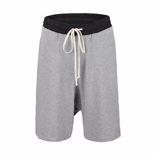 Essential Drop Crotch Shorts S2 - Grey - Insurgence Wear - Affordable Streetwear Essentials