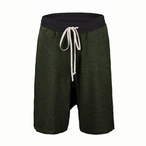 Essential Drop Crotch Shorts S2 - Brown - Insurgence Wear - Affordable Streetwear Essentials