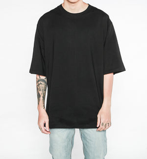 Oversized Drop Tee - Black - Insurgence Wear - Affordable Streetwear Essentials