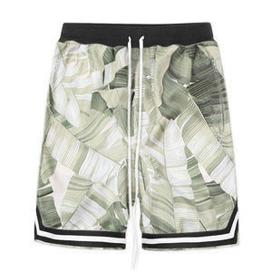 Floral Mesh Shorts S2 - Palm - Quality Affordable Streetwear