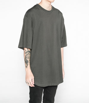 Oversized Drop Tee - Grey - Insurgence Wear - Affordable Streetwear Essentials