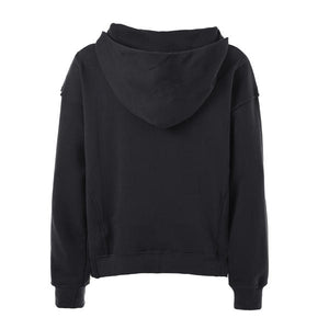 Terry Oversized Hoodie - Black - Insurgence Wear - Affordable Streetwear Essentials