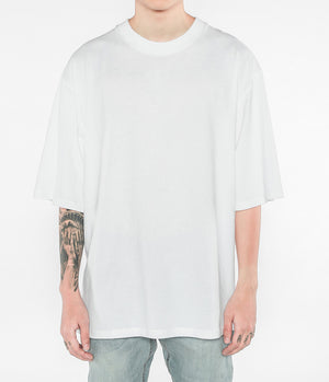 Oversized Drop Tee - White - Insurgence Wear - Affordable Streetwear Essentials