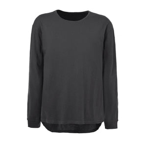 Basic Long Sleeved Tee - Washed Grey - Insurgence Wear - Streetwear Essentials