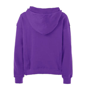Terry Oversized Hoodie - Purple - Quality Affordable Streetwear