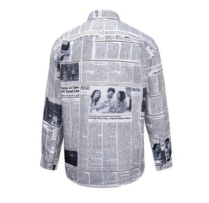 Printed Oversized Shirt - Insurgence Wear - Affordable Streetwear Essentials