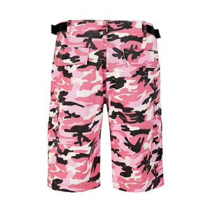 Camo Cargo Shorts - Pink - Insurgence Wear - Affordable Streetwear Essentials
