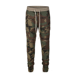 Zipper Cargo Pants - Camo - Insurgence Wear - Affordable Streetwear Essentials