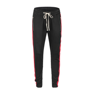 Retro Trackpants S1 - Black / Red - Insurgence Wear - Affordable Streetwear Essentials