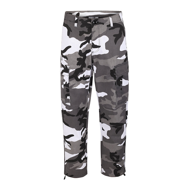 Camo Cargo Pants - Black - Insurgence Wear - Affordable Streetwear Essentials