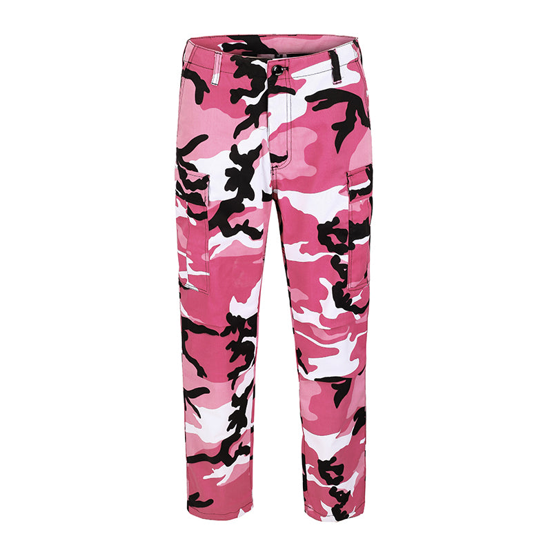 Camo Cargo Pants - Pink - Insurgence Wear - Affordable Streetwear Essentials