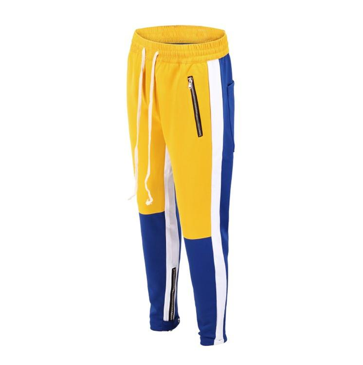 Retro Trackpants S3 - Blue / Yellow - Insurgence Wear - Affordable Streetwear Essentials