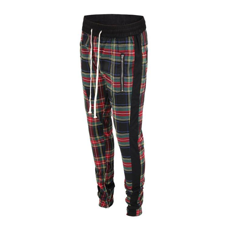 Plaid Trackpants - Green - Insurgence Wear - Affordable Streetwear Essentials
