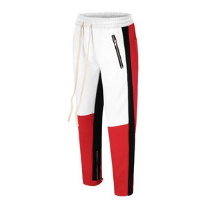 Retro Trackpants S3 - Red / Black - Insurgence Wear - Affordable Streetwear Essentials